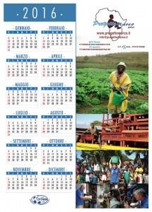 Calendario Progetto Marco 2016